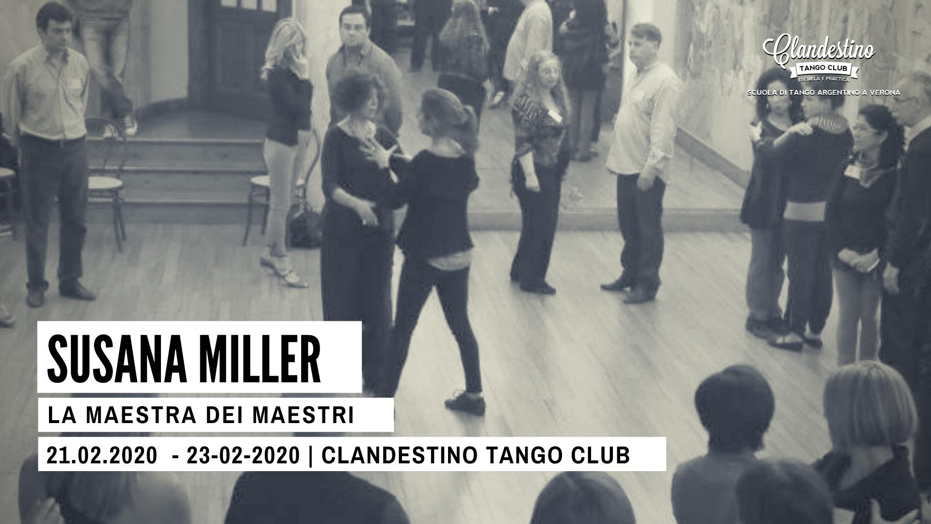 Clandestino tango club - Susana Miller